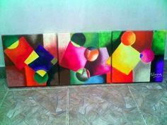 Cuadros Abstractos | Fotos De Pinturas Famosas Logos, Inspiration, Painting & Drawing, Geometric Art, Presents, Creativity, Biblical Inspiration, A Logo, Inhalation