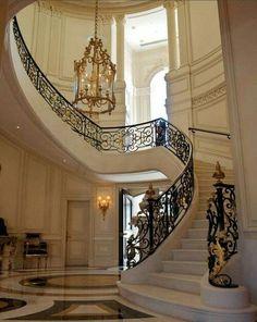 Beverly Hills Estate #Architecture #mansion #beverlyhills #luxury #interior
