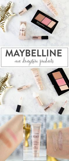 New Drugstore Products: Maybelline