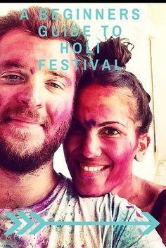 A Beginners Guide to Holi Festival in Varanasi, India | Wanderluce.com