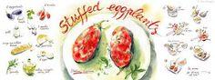 Stuffed Eggplants by Aliona Bereghici