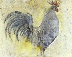 gall - rooster- Contemporary Artist