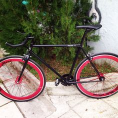 My fixed gear bike