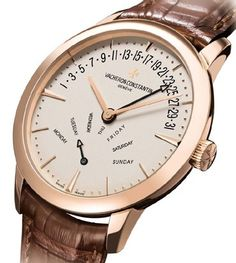 Patrimony contemporaine day-date bi-retrograde de Vacheron Constantin