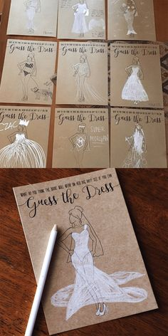 Guess the Dress Bridal Shower Game Guess the Dress Bridal S. Guess the Dress Bridal Shower Game Guess the Dress Bridal Shower Game, Fun Bridal Shower Games, Simple Bridal Shower, Bridal Shower Planning, Printable Bridal Shower Games, Gold Bridal Showers, Bridal Shower Rustic, Bridal Ahower Games, Rustic Bridal Shower Decorations, Bridal Shower Party