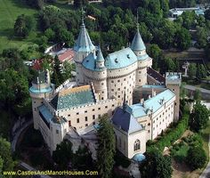 Bojnice Castle, dating from the 12th century, is today a Romantic castle with Gothic and Renaissance elements. It is one of the most visited castles in Slovakia.