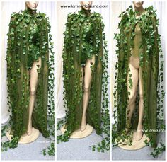 Poison Ivy Cape Batman Costume Cosplay Dance Costume Rave Bra Halloween Burlesque Show Girl from L'Amour Le Allure Poison Ivy Cape Batman Bra Costume Cosplay Dance Costume Rave Bra Halloween Burlesque Show Girl