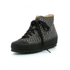 L'ECOLOGICA Sneaker Black