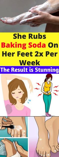 She Rubs Baking Soda On Her Feet 2x Per Week. The Result is Stunning – healthycatcher