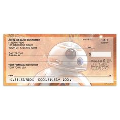 BB8 personal checks - must have these!!! #aff