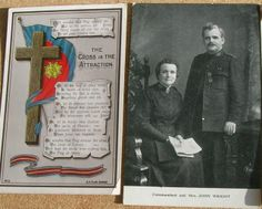 3 Salvation Army Church Postcards C 1910 | eBay Commandant and Mrs John Wright.
