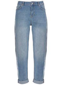 Dakota Foiled Boyfriend Jean Boyfriend Jeans, Mom Jeans, Pants, Fashion, Trouser Pants, Moda, La Mode, Women's Pants, Fasion