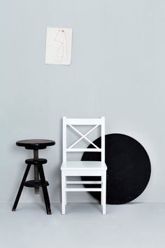 Chair 10 - white by Oliver Furniture.   www.oliverfurniture.com