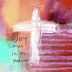 Jesus Mixed Media - Morning Joy- Abstract Art By Linda Woods by Linda Woods