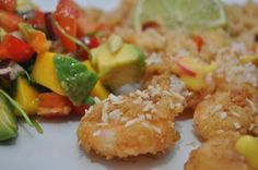 Crispy coconut Scampi - I want to try