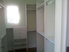 Another happy repeat customer in Palm Harbor, FL. Walk in Closet #walkincloset #customcloset