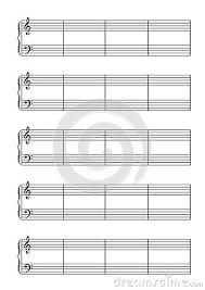 Resultado de imagem para folha com pauta para escrever partituras