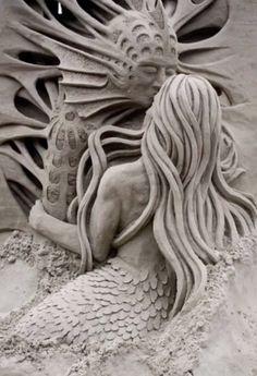 Sand art (sculptures de sable)