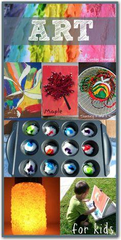 10 fantastic and fun kids art activities
