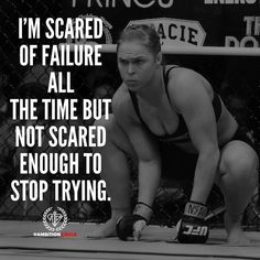 Don't let failure scare you from doing anything. Face your fears and you will defeat them! DOUBLE TAP AND TAG A FRIEND! |thephotographer| by ambitioncircle