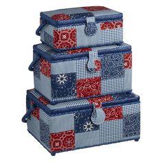 Sewing Storage At Spotlight - Sewing Boxes, Bags + Sewing Box, Haberdashery, Craft Kits, Bandana, Spotlight, Decorative Boxes, Basket, Organization, Storage