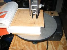 how to make a book safe with a scroll saw