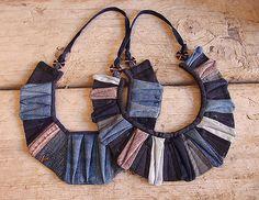 Breastplates I & II   BREASTPLATES I & II 2009 Found denim, …   Flickr
