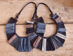 Breastplates I & II | BREASTPLATES I & II 2009 Found denim, … | Flickr