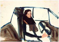 Ann Sexton and Me 1994 Chantal Joffe
