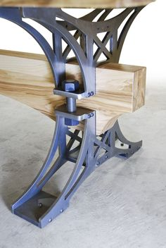 Brandner Design White Ash Truss Table
