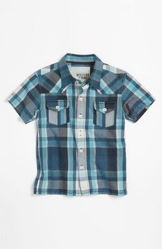 Peek 'Langdon' Western Shirt (Toddler, Little Boys & Big Boys) | Nordstrom
