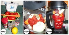 Mama to 5 Blessings - Our Homeschool Blog: SUPER EASY FRESH TOMATO SAUCE RECIPE
