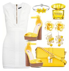 """""""Untitled #124"""" by theollis ❤ liked on Polyvore featuring Balmain, Dolce&Gabbana and Versace"""