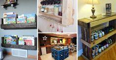15 nápadů na krásný a praktický nábytek z palet