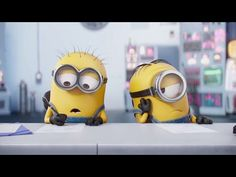 """CGI Animated Short Film HD: """"Minions The Competition"""" Mini-Movie by Illumination - for writing movie reviews 3:42"""