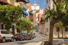 Old San Juan | View of Catedral San Juan Bautista, Puerto Rico