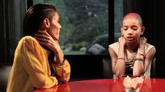 Willow Smith - Red Table Talk Exclusive... I respect the kid for such courage, she really put it on the table. That's how you handle things, communication and respect are most important in life. Powerful words from Jada; at the end. This is why I love Jada, she's real, honest and speaks from the heart. I bet she takes after her Mother.