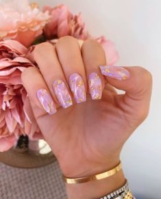 Belini please 🥂 I'm in love with this weather! Edgy Nails, Aycrlic Nails, Stylish Nails, Glitter Nails, Acrylic Nails Coffin Short, Pink Acrylic Nails, Purple Nails, Nail Swag, Fabulous Nails
