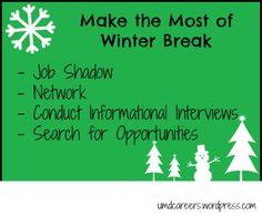 Make the most of winter break
