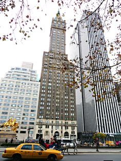 All sizes | The 38-story Sherry-Netherland Hotel (center), 781 Fifth Avenue, New York City. | Flickr - Photo Sharing!