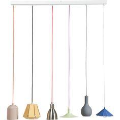 Pendant Lamp El Mundo Dining 6-lite - KARE Design