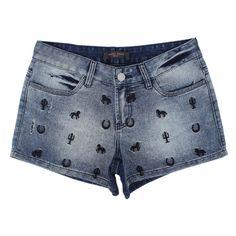 164683d173 11 melhores imagens de Short Jeans Feminino