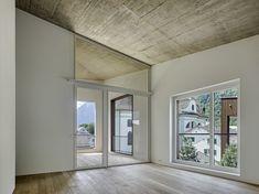 Geviert - Wohnüberbauung in Näfels Empty Room, Oversized Mirror, Concrete, Places, Inspiration, Furniture, Home Decor, Rooms, Big