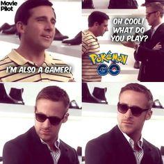 Oh Ryan. You wouldn't understand... #PokemonGO