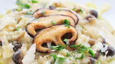 Mondays are chiefly about comfort food in this household. What better than Risotto!