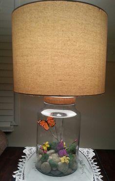 Fillable Lamp : Easy Seasonal Decor | HoosierHomemade.com ...