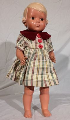 Alte Original Schildkröt Puppe Inge 42 cm Sammlerpuppe Celluloid Zelluloid antik | eBay