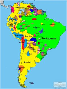 Languages of South America!