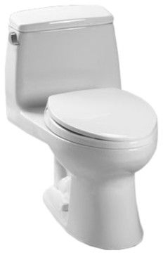 Toto MS85311301 Cotton White Ultimate Toilet 16 GPF