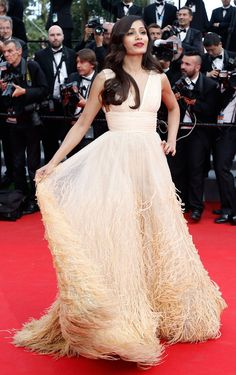 Freida Pinto made a typically stylish splash with her first appearance at Cannes this year in champagne Michael Kors. Freida was attending the screening of Saint Laurent, a film based on the life of legendary designer Yves Saint Laurent.
